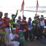Peringati Hari Jadi Kabupaten Pasuruan ke 1091, Bupati dan Kiai Gowes di Pantai Karang Hitam Lekok