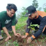 Cinta Alam, IPNU-IPPNU Kab. Pasuruan Tanam Pohon di MT. Suwati Tutur